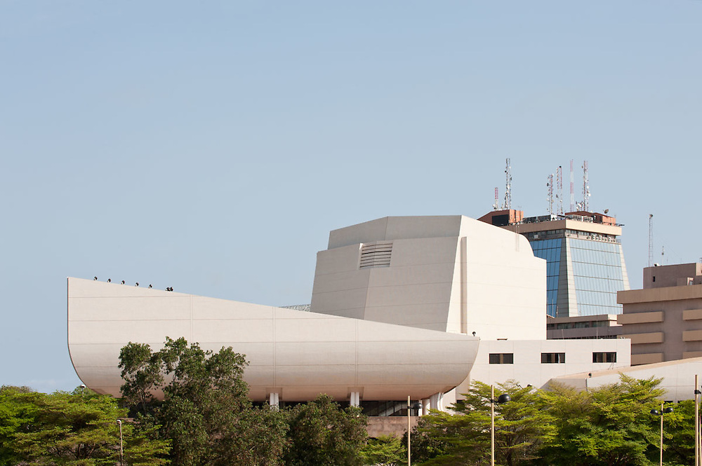 National Theatre, Accra, Ghana 2011