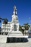 Statue of Jose Marti in Havana Cuba