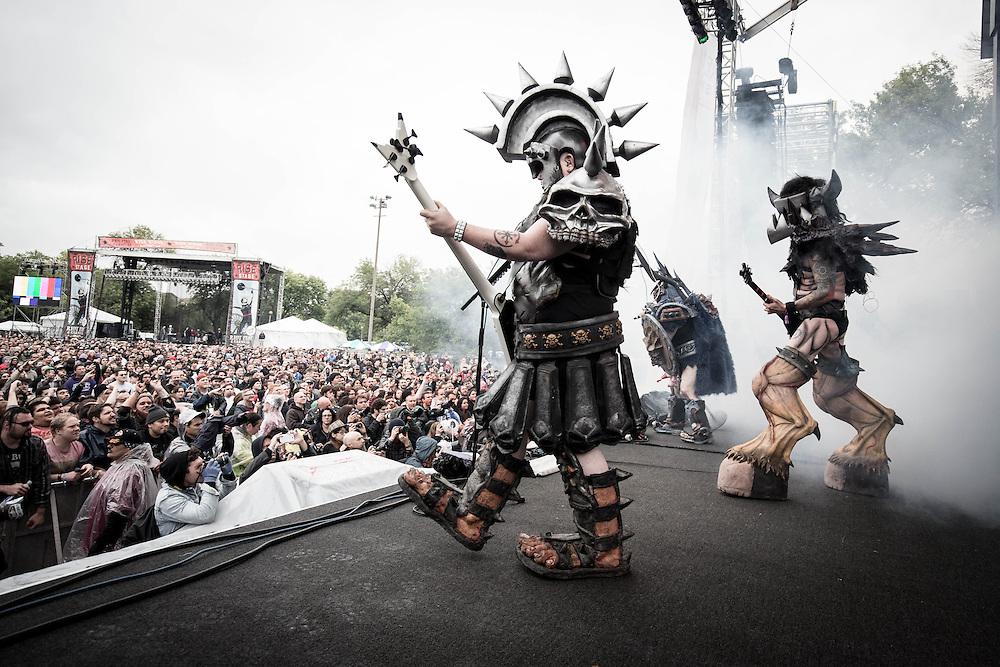 GWAR at Riot Fest 2014