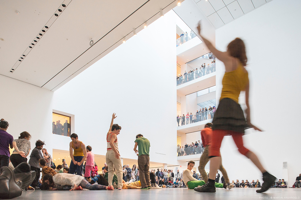 Levée des Conflits Extended: Dancers performed the work by the French choreographer Boris Charmatz, in the atrium of the Museum of Modern Art in New York City. Musée de la Danse: Three Collective Gestures runs through Sunday at the Museum of Modern Art