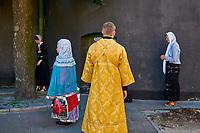 Ukraine, Kiev, la Laure des catacombes (Petchersk) classée Patrimoine Mondial de l'UNESCO. // Ukraine, Kiev, Lavra monastery, Unesco worl heritage.