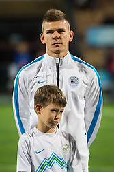 Roman Bezjak (SLO) during the UEFA EURO 2016 Play-off for Final Tournament, Second leg between Slovenia and Ukraine, on November 17, 2015 in Stadium Ljudski vrt, Maribor, Slovenia. Photo by Ziga Zupan / Sportida