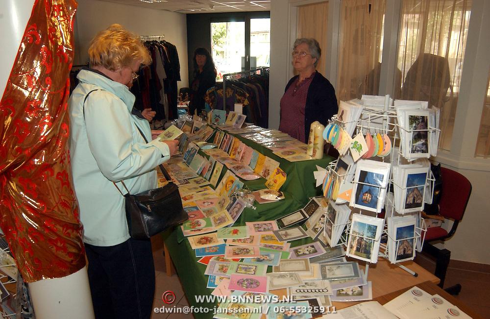 Indische pasar in bejaardentehuis de Blinkert baarn
