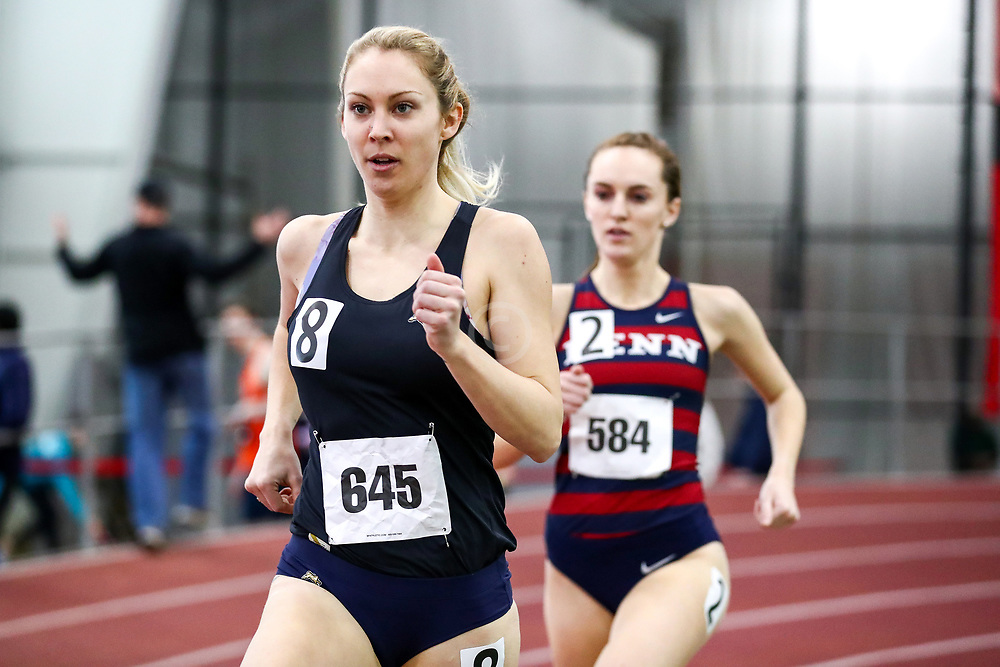 womens 800 meters, Molly Malone, Tracksmith TC<br /> Boston University Scarlet and White<br /> Indoor Track & Field, Bruce LeHane