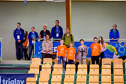 SPECTATORS during day 1 of 15th EPINT tournament - European Table Tennis Championships for the Disabled 2017, at Arena Tri Lilije, Lasko, Slovenia, on September 28, 2017. Photo by Ziga Zupan / Sportida