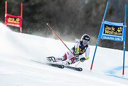 GUT-BEHRAMI Lara of Switzerland competes during the Ladies' GiantSlalom at 56th Golden Fox event at Audi FIS Ski World Cup 2019/20, on February 15, 2020 in Podkoren, Kranjska Gora, Slovenia. Photo by Matic Ritonja / Sportida