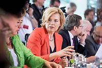 20 JUN 2018, BERLIN/GERMANY:<br /> Julia Kloeckner, MdB, CDU, Bundesministerin fuer Ernaehrung und Landwirtschaft, vor Beginn der Kabinettsitzung, Bundeskanzleramt<br /> IMAGE: 20180620-01-018<br /> KEYWORDS: Kabinett, Sitzung