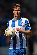 Cameron James of Colchester United during the Sky Bet League 1 match between Colchester United and Rochdale at the Weston Homes Community Stadium, Colchester<br /> Picture by Richard Blaxall/Focus Images Ltd +44 7853 364624<br /> 08/05/2016