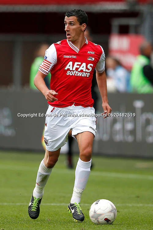 Alkmaar, 01-09-2013, eredivisie, AZ - Vitesse, AFAS Stadion, 1-1, AZ speler Maarten Martens.