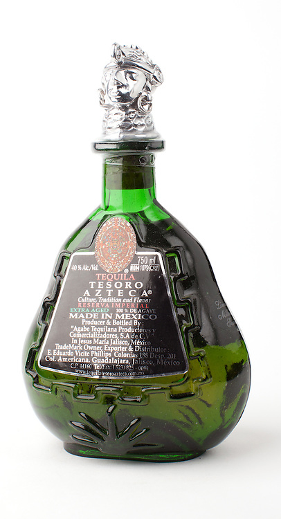 Tesoro Azteca Reserva Imperial Extra Aged -- Image originally appeared in the Tequila Matchmaker: http://tequilamatchmaker.com