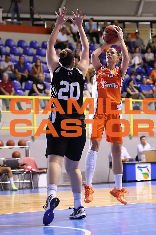 DESCRIZIONE : Cagliari Lega A1 Femminile 2013-14 Opening Day 2013 Famila Wuber Schio CUS Chieti<br /> GIOCATORE : Jenifer Nadalin<br /> SQUADRA : Famila Wuber Schio CUS Chieti<br /> EVENTO : Campionato Lega A1 Femminile 2013-2014 <br /> GARA : Famila Wuber Schio CUS Chieti<br /> DATA : 13/10/2013<br /> CATEGORIA : <br /> SPORT : Pallacanestro <br /> AUTORE : Agenzia Ciamillo-Castoria/ElioCastoria<br /> Galleria : Lega Basket Femminile<br /> 2013-2014 <br /> Fotonotizia : Cagliari Lega A1 Femminile 2012-13 Opening Day 2013 Famila Wuber Schio CUS Chieti<br /> Predefinita :