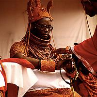 His Royal Majesty Omo n'Oba n'Edo Uku Akpolokpolo Erediauwa I, Oba of Benin, Nigeria