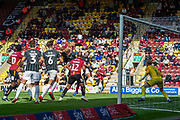 Ben Richard-Everton of Bradford City effort on goal during the EFL Sky Bet League 2 match between Bradford City and Northampton Town at the Utilita Energy Stadium, Bradford, England on 7 September 2019.