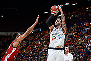 Sacchetti Brian<br /> A X Armani Exchange Olimpia Milano - Germani Basket Brescia<br /> Basket Serie A LBA 2019/2020<br /> MIlano 29 September 2019<br /> Foto Mattia Ozbot / Ciamillo-Castoria