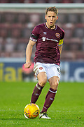Christophe Berra (#6) of Heart of Midlothian during the 4th round of the William Hill Scottish Cup match between Heart of Midlothian and Livingston at Tynecastle Stadium, Edinburgh, Scotland on 20 January 2019.
