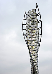 View of The Spirit of Sport Sculpture which is covered with the images of 700 people who have been recognised for their contribution to Bolton's sporting life.  - Photo mandatory by-line: Richard Martin-Roberts/JMP - Mobile: 07966 386802 - 14/03/2015 - SPORT - Football - Bolton - Macron Stadium - Bolton Wanderers v Millwall - Sky Bet Championship