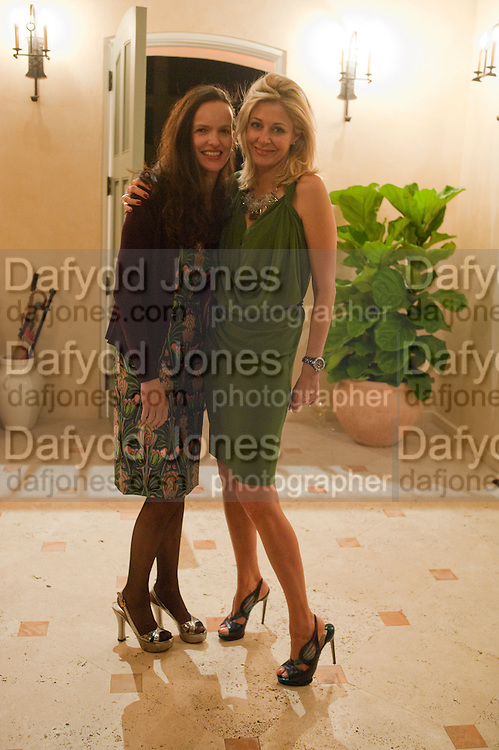 BETTINA VON HASE; NADJA SWAROVSKI, Galen and Hilary Weston host the opening of Beatriz Milhazes Screenprints. Curated by Iwona Blazwick. The Gallery, Windsor, Vero Beach, Florida. Miami Art Basel 2011
