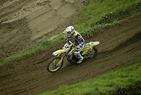 Mantova , 110207 , Starcross Seasonopener  Erstes Kraeftemessen der internationalen Motocrosselite beim Starcross in Mantova.  Kevin STRIJBOS (Suzuki , BEL)