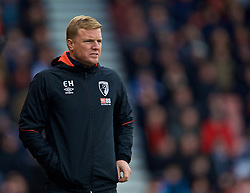 BOURNEMOUTH, ENGLAND - Sunday, November 25, 2018: AFC Bournemouth's manager Eddie Howe during the FA Premier League match between AFC Bournemouth and Arsenal FC at the Vitality Stadium. (Pic by David Rawcliffe/Propaganda)