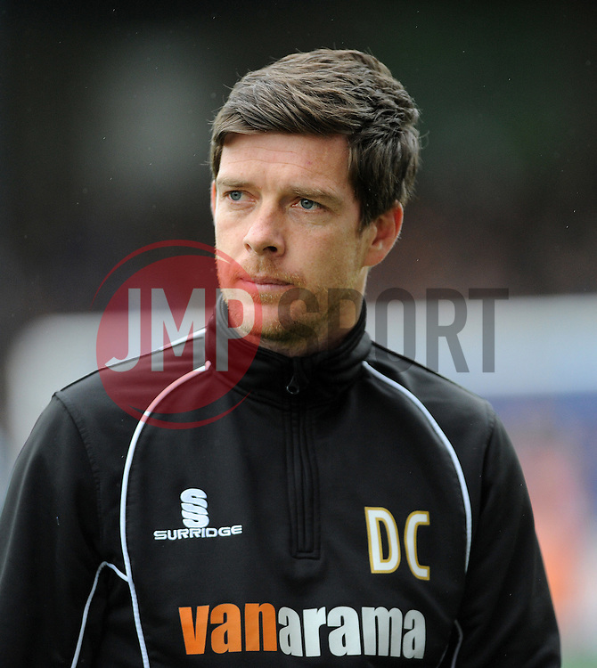 Bristol Rovers Manager, Darrell Clarke - Photo mandatory by-line: Neil Brookman/JMP - Mobile: 07966 386802 - 03/04/2015 - SPORT - Football - Bristol - Memorial Stadium - Bristol Rovers v Chester - Vanarama Football Conference