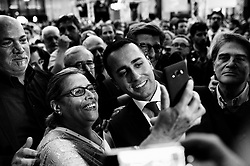 Luigi Di Maio take part at the annual meeting of Confcommercio, enterprises, the professional and the Self-employment activities italian general confederation.Rome 7 June 2018. Christian Mantuano / OneShot