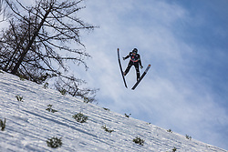 Jurij Tepes (SLO) during the 1st round of the Ski Flying Hill Individual Competition at Day 2 of FIS Ski Jumping World Cup Final 2019, on March 22, 2019 in Planica, Slovenia. Photo Peter Podobnik / Sportida