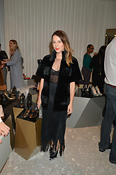 JULIET ANGUS at the Crisian London Boutique Opening at 41-42 Dover Street, London on 18th November 2014.