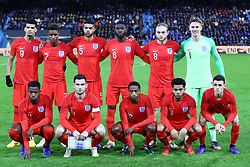 Team England photo<br /> Football friendly match Italy vs England u21<br /> Ferrara Italy November 15, 2018<br /> Photo by Filippo Rubin