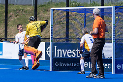 Barford Tigers v Stourport - Men's O50s T2 Final, Lee Valley Hockey & Tennis Centre, London, UK on 06 May 2018. Photo: Simon Parker
