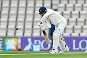 James Vince of Hampshire batting during the first day of the Specsavers County Champ Div 1 match between Hampshire County Cricket Club and Essex County Cricket Club at the Ageas Bowl, Southampton, United Kingdom on 5 April 2019.