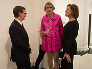 THADDAEUS ROPAC; GRAYSON PERRY; POLLY ROBINSON-GAER, Opening of Galerie Thaddaeus Ropac London, Ely House, 37 Dover Street.. Mayfair. London. 26 April 2017.