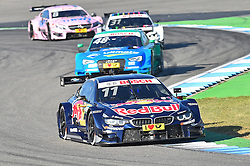 DTM Meister 2016 Marco Wittmann (BMW Team RMG) vor Vizemeister Edoardo Mortara (Audi Sport Team Abt Sportsline)  beim DTM Saisonfinale in Hockenheim<br /> <br />  / 161016<br /> <br /> ***German Touring Car Championship in Hockenheim, Germany, October 16, 2016 ***