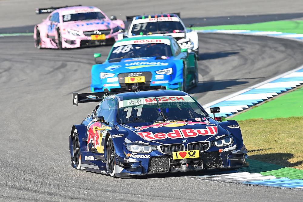 DTM Meister 2016 Marco Wittmann (BMW Team RMG) vor Vizemeister Edoardo Mortara (Audi Sport Team Abt Sportsline)  beim DTM Saisonfinale in Hockenheim<br /> <br />  / 161016<br /> <br /> ***German Touring Car Championship in Hockenheim, Germany, October 16, 2016 ***