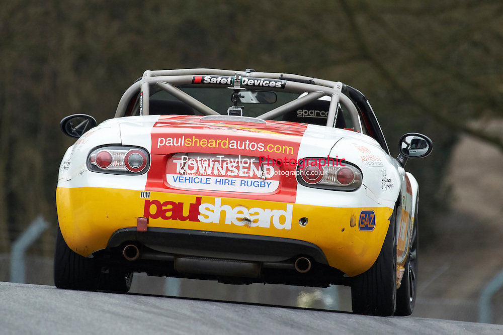 #93 Russell TAMPLIN Mazda MX5 Mk3 2000 during Max 5 Championship as part of the BARC NW - Championship Raceday  at Oulton Park, Little Budworth, Cheshire, United Kingdom. March 19 2016. World Copyright Peter Taylor/PSP. Copy of publication required for printed pictures.  Every used picture is fee-liable. http://archive.petertaylor-photographic.co.uk