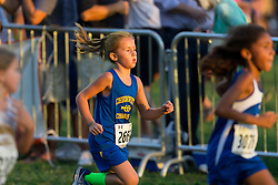 Addyson and Carlee compete in a Cross Country meet at Tom Sawyer Park, Friday, Sept. 16, 2016.