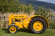 1936 John Deere AI Industrial Tractor restored by Dennis Black of Arlee Montana. Only 68 Built.
