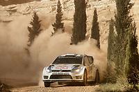 Andreas Mikkelsen (NOR) - Ola Floene(NOR)-Volkswagen Polo WRC