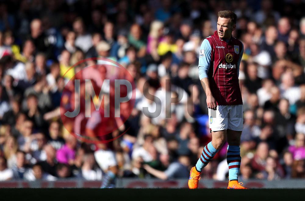 Aston Villa's Andreas Weimann - Photo mandatory by-line: Robbie Stephenson/JMP - Mobile: 07966 386802 - 11/04/2015 - SPORT - Football - London - White Hart Lane - Tottenham Hotspur v Aston Villa - Barclays Premier League