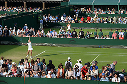 © Licensed to London News Pictures. 24/06/2014. LONDON, UK Wimbledon Tennis Championships 2014<br /> . General view of scenes at Wimbledon tennis championships..  Photo credit : Mike King/LNP