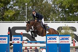 Van Beek Roy, BEL, Chacco Me Biolley<br /> Belgisch Kampioenschap Jeugd Azelhof - Lier 2020<br /> © Hippo Foto - Dirk Caremans<br />  02/08/2020