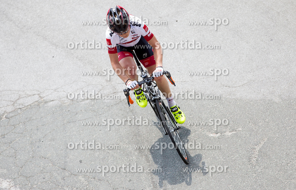 Jan Tratnik (SLO) of Tirol Cycling Team during Stage 3 from Skofja Loka to Vrsic (170 km) of cycling race 20th Tour de Slovenie 2013,  on June 15, 2013 in Slovenia. (Photo By Vid Ponikvar / Sportida)