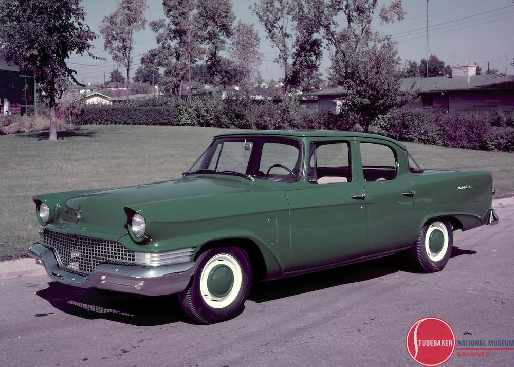 1958 Studebaker Scotsman sedan.