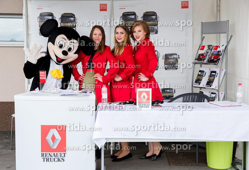 Renault Trucks event on May 17, 2014 in Raceland, Krsko, Slovenia. Photo by Vid Ponikvar / Sportida