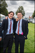 TWINS; CASPAR ROGERS; FREDDY ROGERS, Ebor Festival, York Races, 20 August 2014
