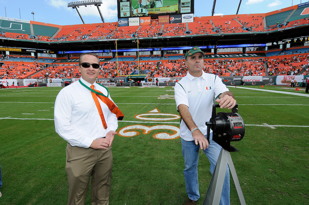 2012 Miami Hurricanes Football vs North Carolina