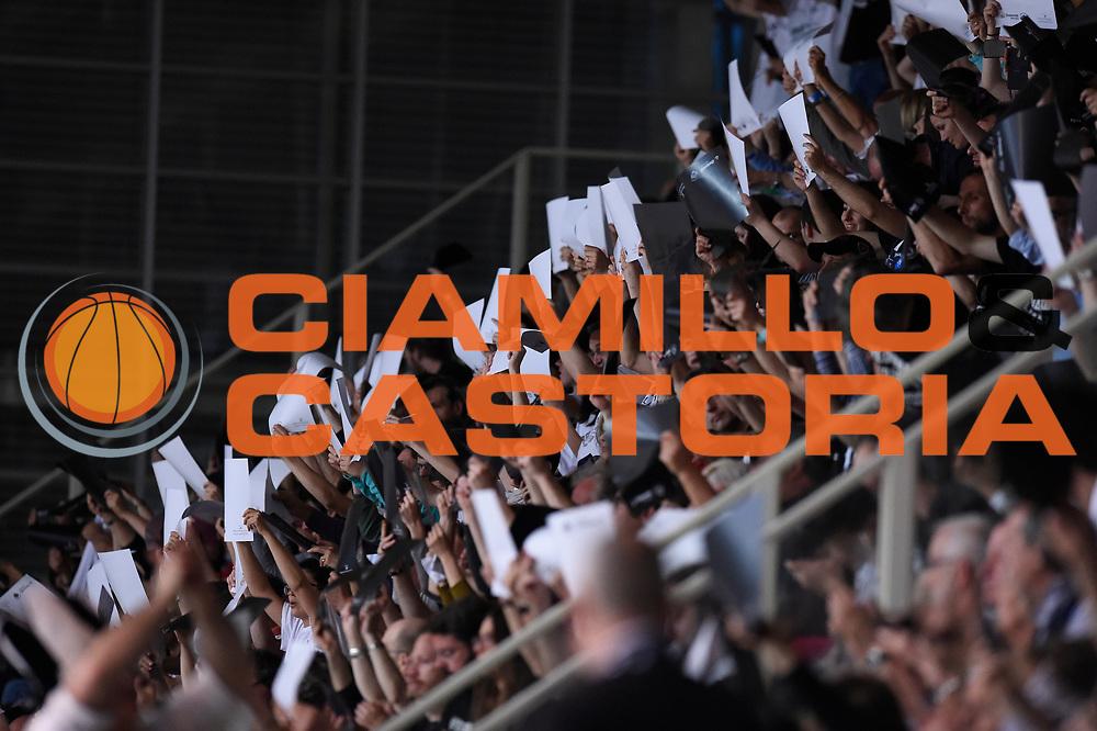 Dolomiti Energia Trento Tifosi<br /> Quarti di Finale Gara 2<br /> Legabasket A 2016,2017<br /> Trento 14,05,2017<br /> Foto Ciamillo-Castoria,GiulioCiamillo