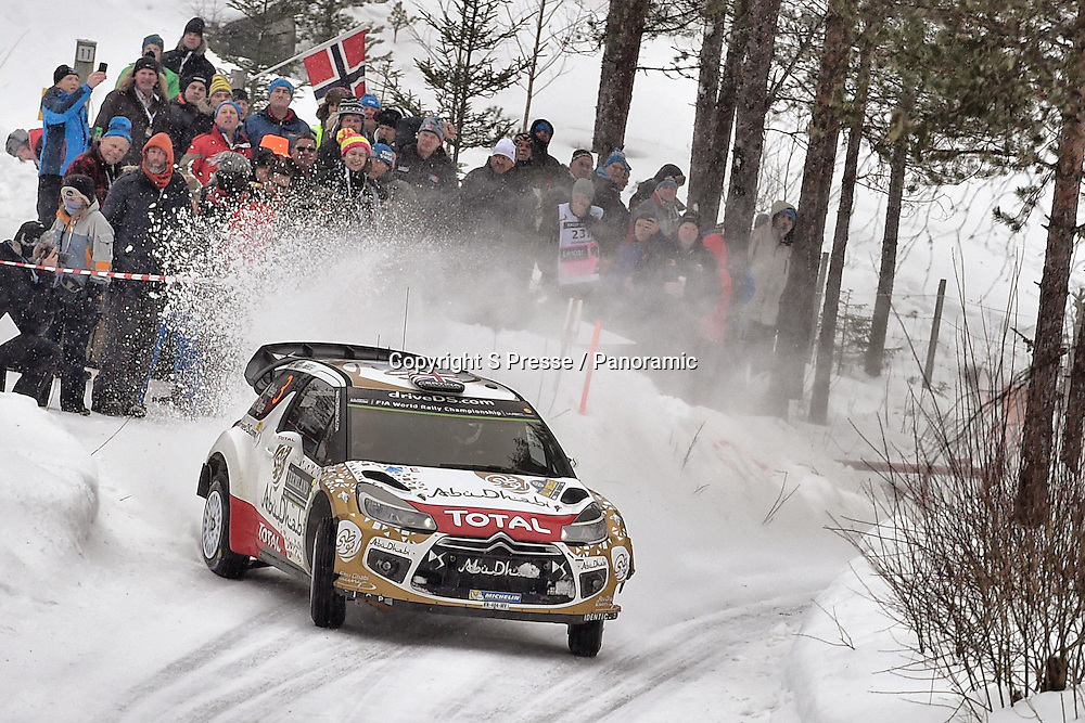 Kris Meeke (IRL) / Paul Nagle (GB) - Citroen DS3 WRC