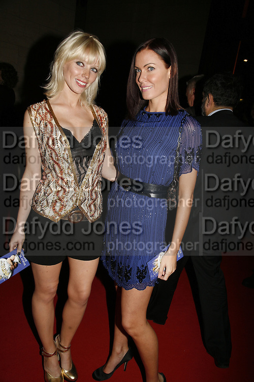 Charlotte Dutton and Linzi Stoppard, Opening of Spamalot at the Night Palace Theatre and afterwards at Freemasons Hall Gt. Queen St.  London. 17 October 2006. -DO NOT ARCHIVE-© Copyright Photograph by Dafydd Jones 66 Stockwell Park Rd. London SW9 0DA Tel 020 7733 0108 www.dafjones.com