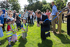 JUN 13 2014  David Cameron opens childrens playground