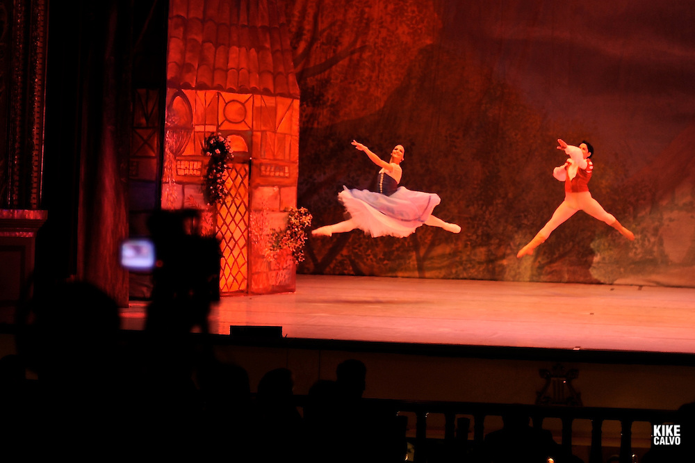 Panama National Ballet. National Theater at Casco Viejo. Opening day for the play Giselle.